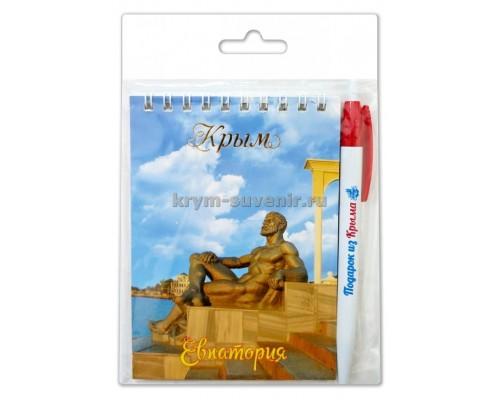 Евпатория (370-67-02) н-р блокнот+ручка