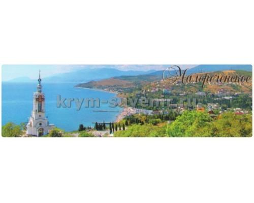 Малореченское (8-02-01-00) панорама, гориз. магнит