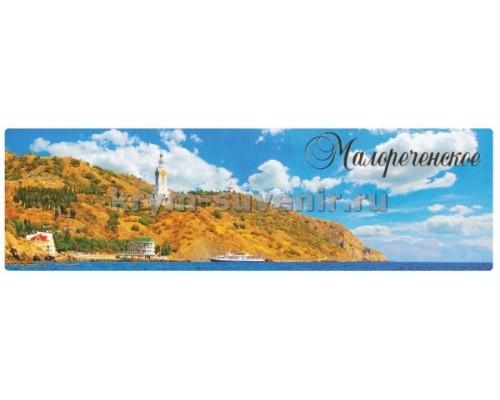 Малореченское (8-02-02-00) панорама, гориз. магнит