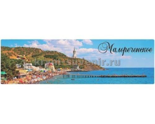 Малореченское (8-02-03-00) панорама, гориз. магнит