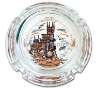 Пепельница (СЮ) 526-4 Ласточкино гнездо, стекло