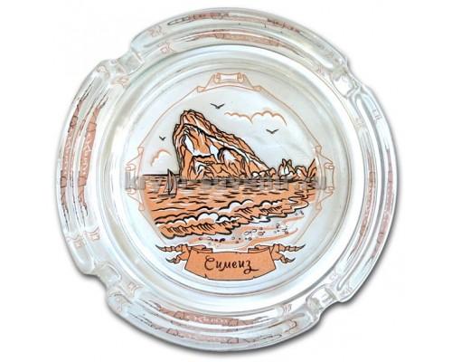 Пепельница (Созвездие Юга) 526-7 Симеиз, скала Дива, стекло