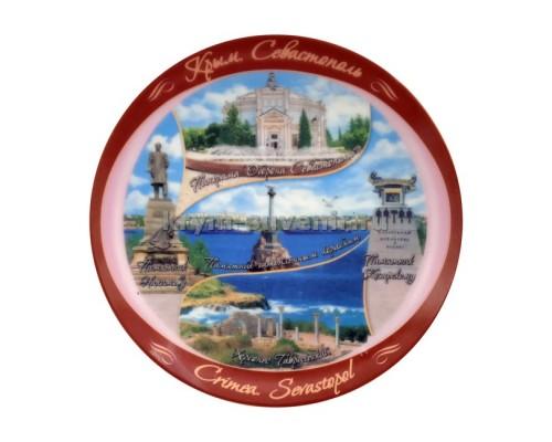 Тарелка фарфор. US 13 см. (10040В) Севастополь, без подставки, 144 шт./ящ.