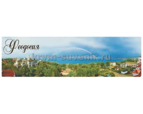 Феодосия (08-39-01-00) панорама, гориз. магнит