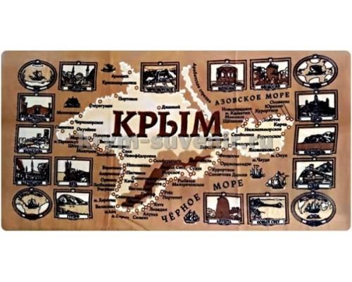 Полотенце  МАЛОЕ ХБ Крым Исторический (SS-1721) уп. 15 шт.