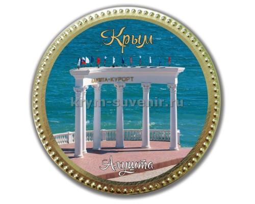 Медаль шоколадная сувенирная
