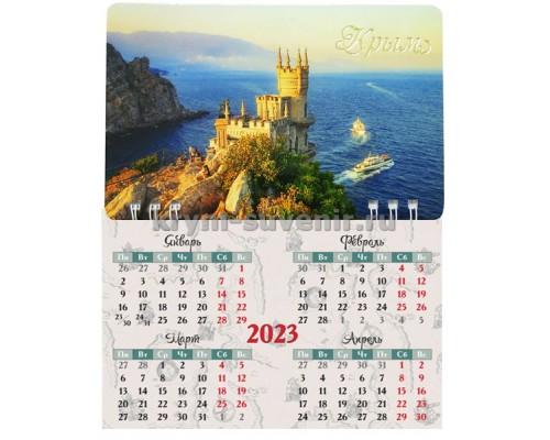 Ласточкино г-до №3 (083-100-25) календарь-магнит