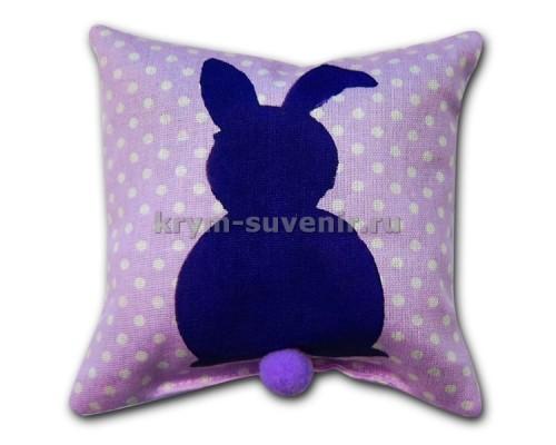 Лавандовое саше подушка с зайцем