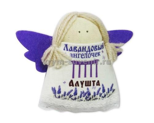 Магнит из ткани с лавандой ангел Алушта арка