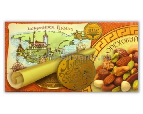 Лукум-Джезерье Ореховый 100 гр. (плитка)