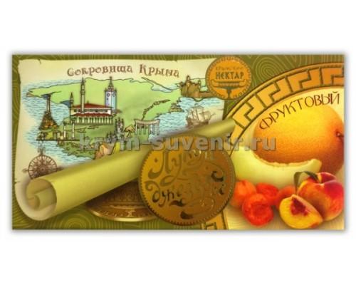 Лукум-Джезерье Фруктовый 100 гр. (плитка)