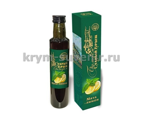 Фитобальзам (Крымский нектар) Мята+Лимон, 250 мл 24 шт./уп.