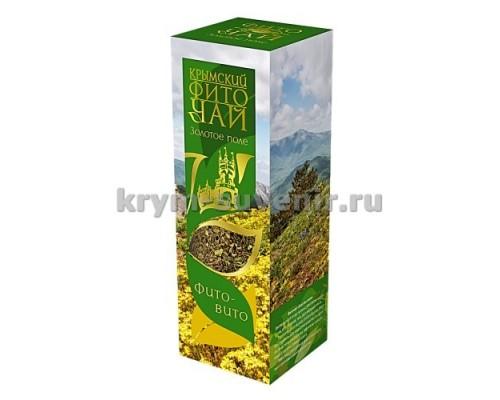 Фиточай Золотое поле (фито-вито) 60г в коробке