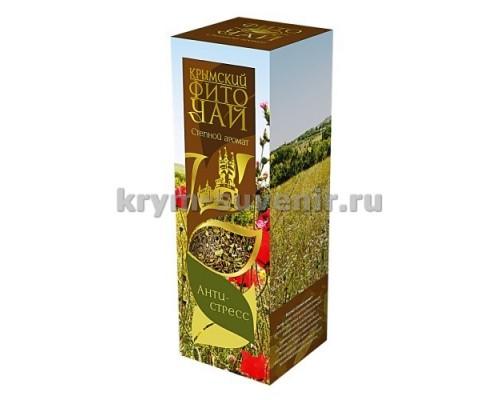 Фиточай Степной аромат (антистресс) 60г в коробке