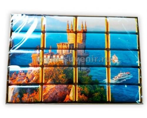 Набор шоколадок сувенирных Ласт. гнездо (Пазл)+расскраска, 20 шт. х 5 гр. (50 шт/уп)