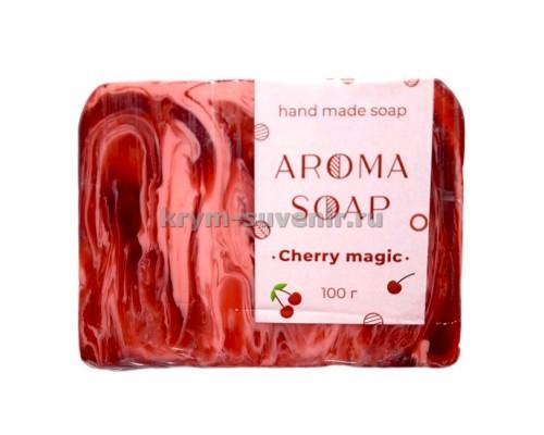 Мыло (AROMA SOAP) Cherry magic 80 гр. глицериновое