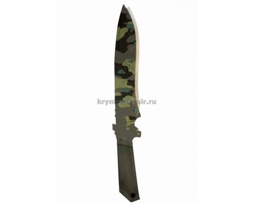 Нож сувенирный деревянный классический (6) Камуфляж