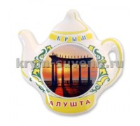 Магнит керамич. чайник Алушта № 2 (ПД)