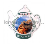 Магнит керамич. чайник Судак № 4 (ПД)