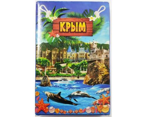 Карты игральные Видовые Крым с дельфинами 32 шт СС