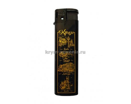 Зажигалка ЮБК №3 (79-17) 50 шт/уп.черная