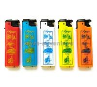 Зажигалка ЮБК №3 (79-18) 50 шт/уп.цветная TURBO